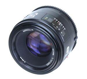 Minolta Lens AF 50mm F 1.7 Mount Minolta A Sony Alpha (Réf#C-162)