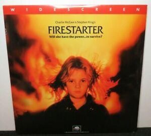 FIRESTARTER STEPHEN KING NEW SEALED WIDE SCREEN LASER DISC