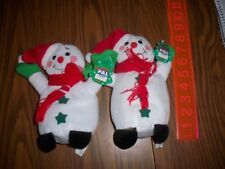 HOLIDAY PAL SNOWMEN WITH CHRISTMAS HAT