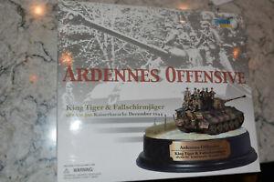 "Dragon Armor 1/72 Cyber Hobby Diorarmor ""Ardennes Offensive"", King Tiger, NIB"