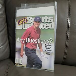 June 26, 2000 Tiger Woods Sports Illustrated