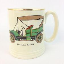 Vintage Lord Nelson Ware Elijah Staffordshire Tankard Mug Franklin Car 1906
