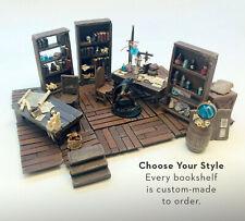 Bookshelf [PICK ONE] Painted D&D Pathfinder 100% Handmade Terrain Tavern Minis