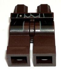 LEGO Dark Brown Cowboy Minifigure Legs Black Vest Coattail The Lone Ranger 79109
