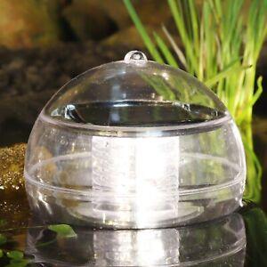 LED Schwimmleuchte Kugelleuchte Solar Teichleuchte Schwimmlicht Teichlampe Teich