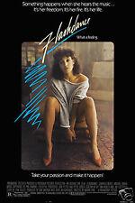 Flashdance Jennifer Beals cult movie poster print