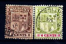 MAURITIUS - 1910 - Nuovo stemma Re Edoardo VII