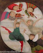 """Graciela Rodo Boulanger """"Scherzo"""" Original Lithograph from the """"Mouvements""""Suite"""