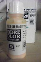 MODEL HOBBY PAINT 17ML BOTTLE   VAL815  AV Vallejo Model Color - Basic Skintone