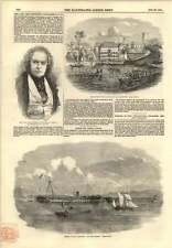 1854 Lord Frederick Fitzclarence naufragio de Melbourne Mar Negro
