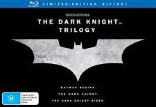The Dark Knight Trilogy (Blu-ray, 2012, 5-Disc Set)