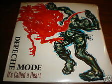 DEPECHE MODE SEALED 45 + POSTER ITS CALLED A HEART MUTE