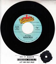 """THE BEACH BOYS  Do It Again & Let Him Run Wild 7"""" 45 record + juke box strip NEW"""