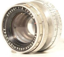 Carl Zeiss Sonnar 50mm f/2 for M39 Leica military