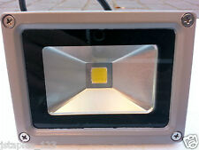 1X 10W 12V  Cool White LED Flood Light Outdoor Garden Lampscape Waterproof IP65