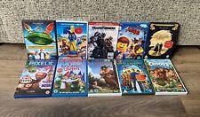 Children's DVD Bundle- x10 DVDs- Dreamworks/ Animated- RIO/ LEGO/ Thunderbirds