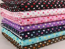By the Metre Love & Hearts 100% Cotton Craft Fabrics