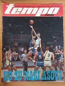 magazine TEMPO 359 basketball Kresimir Cosic BC Zadar cover Yugoslavia 1973