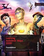 Learning Autodesk Maya 2009 Foundation: Official Autodesk Training Gui-ExLibrary