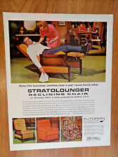 1966 Stratolounger Reclining Chair Ad