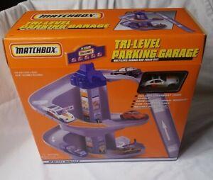 Vintage Matchbox Tri-level Parking Garage #89874 NEW IN PACKAGE