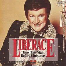 Liberace Twas The Night Before Christmas CD 1993 Holiday Classic!