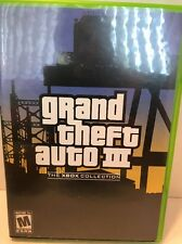 Video game Xbox grand theft auto 3 Free Shipping
