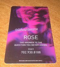 COSMOPOLITAN HOTEL & CASINO ROSE #3 ROOM KEY CARD LAS VEGAS
