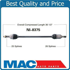 Front Passenger Side Right CV Joint Axle Assembly For VERSA 2007-2012