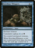 Krovikan Whispers MTG Magic the Gathering COLDSNAP Krovikan Whispers
