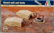 Desert Well and Tents Diorama Plastic Kit 1:72 Model 6148 ITALERI