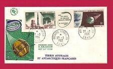 TAAF -  Lettre KERGUELEN - 27-03-1966  ( 1er Jour ) - PA N° 11 A .