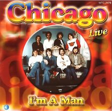 CHICAGO - I'm A Man, Live IMPORT CD
