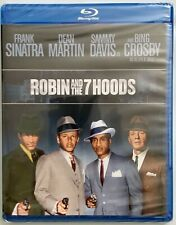 NEW ROBIN AND THE 7 HOODS BLU RAY FREE WORLD WIDE SHIPPING FRANK SINATRA DEAN MA