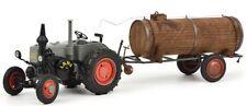SCH7694 - Tracteur LANZ BULLDOG avec une remorque citerne  -  -