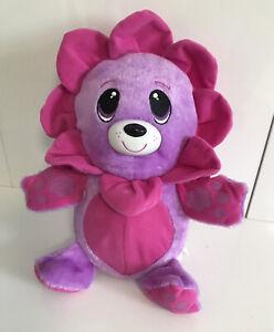 "Fur Berries PINK LILAC Bear Ball Transforms - Rare 2008 Spin Master 10"""