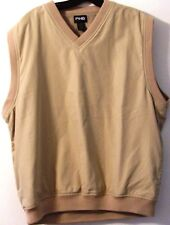PING collection vest L tan  excellent condition golf