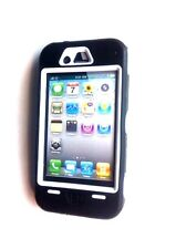 iPhone 4 4s Case Cover Shield Armour Shockproof + Free Screen Protector