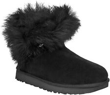 UGG Women's Classic Fluff Pin Mini Boot