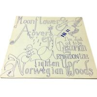 Moonflowers 'A Covers EP' 1992 Vinyl EP EX-/VG+ Very Nice Clean Copy