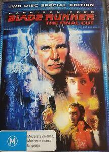 Blade Runner  - The Final Cut (DVD, 2007, 2-Disc Set) FREE POST