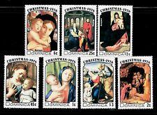 SELLOS NAVIDAD DOMINICA 1976 495/501  7v.