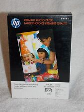 HP Premium Photo Paper 100 Inkjet Glossy Glace Sheets 4 x 6 64 lbs Q1990A New