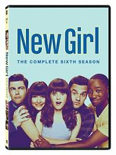 NEW GIRL  : COMPLETE SEASON 6  DVD - UK Compatible - New & sealed