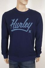 Hurley Retreat Marv Men's Crewneck Pullover Sweater Sweatshirt Navy L