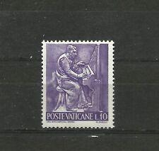 Vatican 1966 Works 10 Lira MNH Vaticano