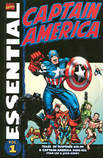 Essential Captain America Vol 1 by Jack Kirby & Stan Lee TPB  Marvel 2008
