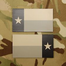 Infrared Texas State Flag Patch Set AOR1 IR US Army Navy SEAL DEVGRU