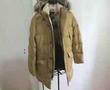 NWT Men's Expedition Winter Down Parka Coat Beige Size M $299.95
