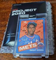 DWIGHT GOODEN SP TOPPS PROJECT 2020 #184 SOPHIA CHANG PRINT RUN ONLY 3554!! HOT!